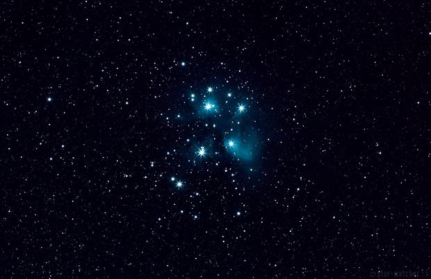 M45 Pleiades,                                star-watcher.ch