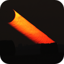 Tiny crescent moonset,                                Petr Hykš