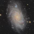 M33  Triangulum galaxy,                                Siegfried