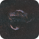 Veil Nebula HSO QHY163 Rokinon 135mm,                                Eric Walden