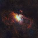 M16 Eagle Nebula SHO,                                Bock Chuang Yee