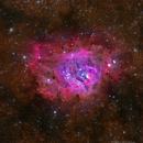 Messier 8 - The Lagoon Nebula,                                David McGarvey