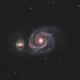 M51 - Whirlpool Galaxy,                                mr1337