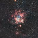 NEBULA IN THE DORADO CONSTELLATION  AND IN ITS INTERIOR THE GLOBULAR STAR CLUSTER NGC1761,                                Fernando Oliveira de Menezes