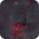A Part of Monoceros Constellation - NGC 2264 and others,                                Pawel Zgrzebnicki
