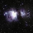 Orion Nebula and area,                                A.Roundy