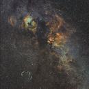 Narrowband image of Cygnus wide,                                Toshiya Arai