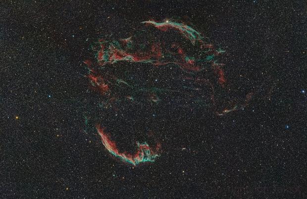 Veil Nebula Mosaic,                                Jon Talbot