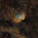 The Tulip Nebula in SHO (Sh2-101),                                Marcel Nowaczyk
