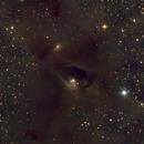 LDN 1495 and others in Taurus,                                Nurinniska