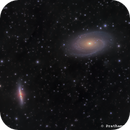 M81/M82 in LHRGB,                                Prath Pavaskar