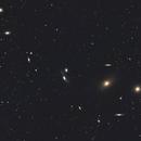 La Chaine de Markarian dans la constellation de la Vierge,                                Didier SPREUTELS