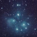 Pleiades, Messier 45,                                Gláuber