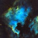 North American Nebula with a slice of Pelican,                                Brian Meyerberg