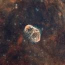 Crescent nebula,                                Antonio Ghelardi