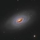 M64 - Black Eye Galaxy,                                Victor Van Puyenbroeck