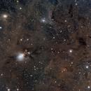 NGC1333 and dust,                                snakagawa