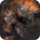 NGC 7822 with the Hubble Palette,                                Chuck's Astrophot...