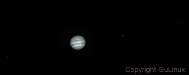 Jupiter animation frame (3) - 09/04/2017,                                Marco Gulino