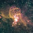Statue of Liberty Nebula - NGC 3576,                                Bruce Rohrlach