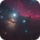 HorseHead & Flame Nebulas (IC 434 and NGC 2024),                                Yakov Grus