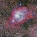 M8, Lagoon nebula,                                gerard tartalo