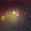NGC2246 in Hubble Palette,                                Ian Gorin