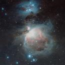 the Great Orion's nebula,                                Frigeri Massimiliano