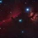 Horsehead Nebula,                                rhombus