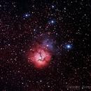 laagoon nebula,                                Roberto Maccagnola