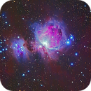 M42 and NGC 1975 - Orion and Running man nebulae,                                Ricardo L Pinto