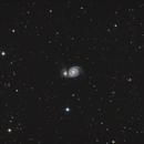 M51 Whirlpool Galaxy,                                Trace