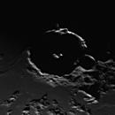 Moon Gassendi Crater,                                scarabeaus1
