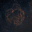 Simeis 147, SH2-240. Spaghetti Nebula.,                                Rush