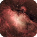 Eagle Nebula (M16) - a new Synthetic RGB formula,                                Frank Kane