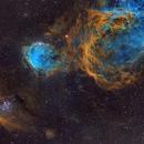 NGC 3324,                                Warren A. Keller
