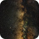 The Milky Way of the Saggitarius-Aquila Region RGB-NB,                                Marc Silva
