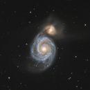 M51 - Whirpool Galaxy (Crop),                                Michael Klosch-Trageser