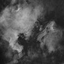 NGC 7000 4 panel mosaic HA Short Mosaic test,                                Vincent