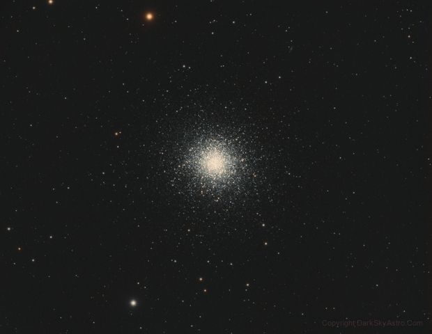 Globular Cluster in Hercules M13,                                Stan Smith