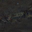 Cygnus constellation (Summer Triangle : Deneb, Vega, Altair),                                Cyril NOGER