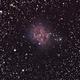 """IC 5146 """"Cocoon Nebula"""" - 16 luglio 2015,                                Giuseppe Nicosia"""