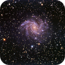NGC 6946 - Fireworks Galaxy - RGB (V2),                                Rodolphe Goldsztejn