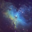 Messier 16 The Eagle Nebula,                                Geoff Smith