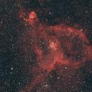 Heart Nebula,                                Clem