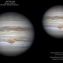 Júpiter  2020-7-3 23:32,5 UT,                                ortzemuga