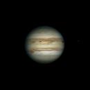Jupiter 2020-08-25. RGB. GRS and Io transit,                                Pedro Garcia