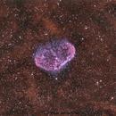 NGC 6888 La Nébuleuse du croissant,                                manudu74