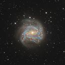M83 Southern Pinwheel Galaxy 20210601 15600s LRGB 01.4.3,                                Allan Alaoui