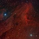 Pelican Nebula,                                Jason Tackett